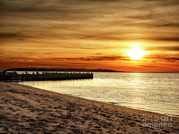 Photograph - Beach Haven Sunset On Long Beach Island by John Rizzuto