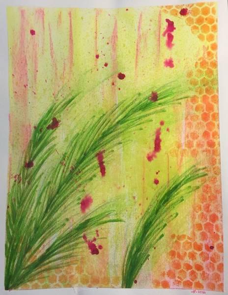 Beach Grass Drawing - Beach Honeycomb by Barbara Bellissimo