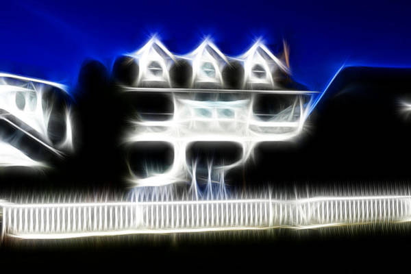 Photograph - Beach House Fractal by Lawrence Christopher