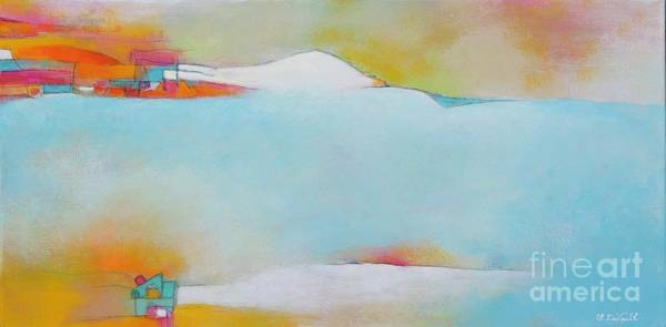 Wall Art - Painting - Beach House by Laurie DeVault