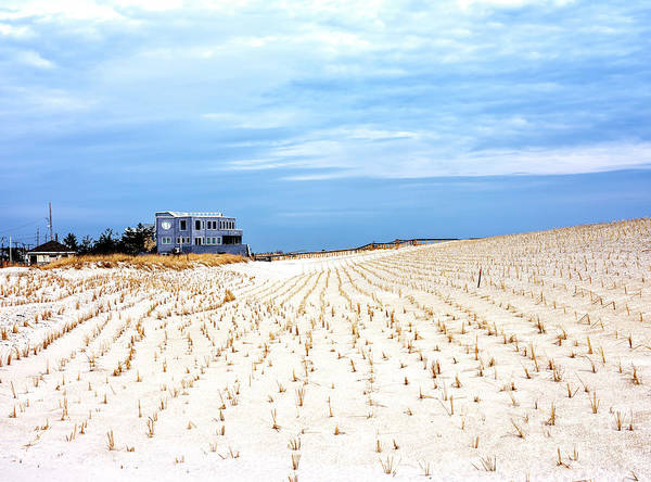 Photograph - Beach House On The Dunes At Long Beach Island by John Rizzuto