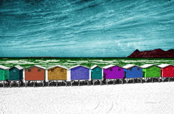Photograph - Beach Houses by Ericamaxine Price