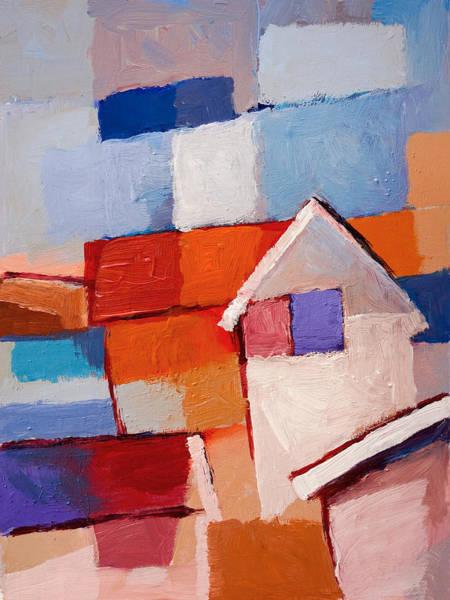 Painting - Beach Houses by Lutz Baar