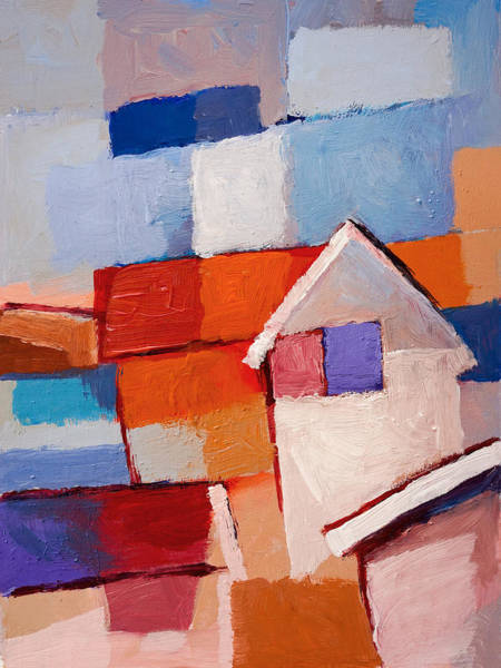 Wall Art - Painting - Beach Houses by Lutz Baar