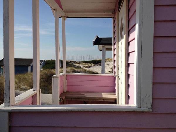 Photograph - Beach Houses by Michael Maximillian Hermansen