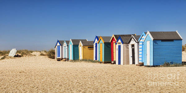 Wall Art - Photograph - Beach Huts by Colin and Linda McKie