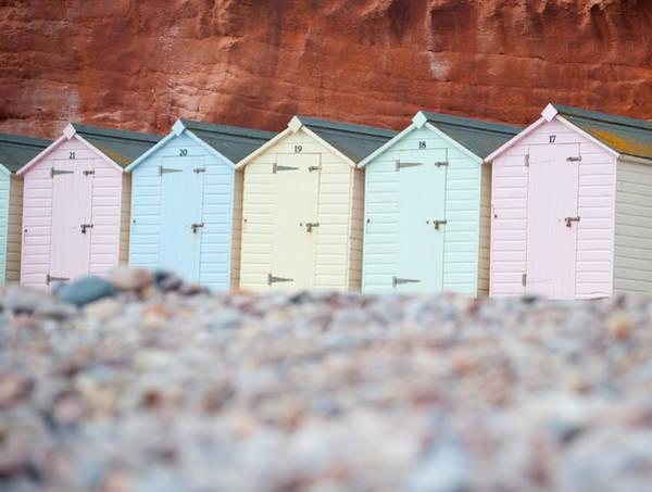 Photograph - Beach Huts IIi by Helen Northcott