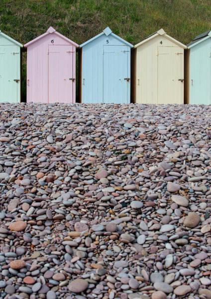 Photograph - Beach Huts X by Helen Northcott