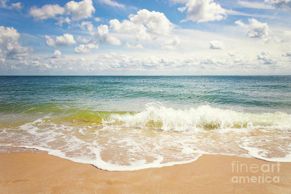 Photograph - Beach Impression Hoernum Sylt by Angela Doelling AD DESIGN Photo and PhotoArt