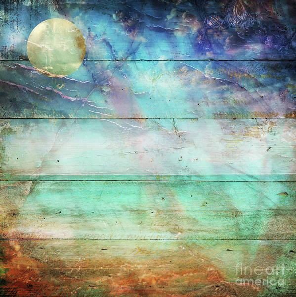 Wall Art - Painting - Beach Lapis by Mindy Sommers