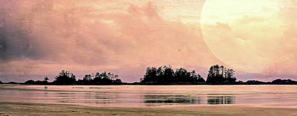 Wall Art - Photograph - Beach Light Goodnight by Kathy Bassett