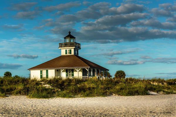 Boca Grande Photograph - Beach Lighthouse by Marvin Spates