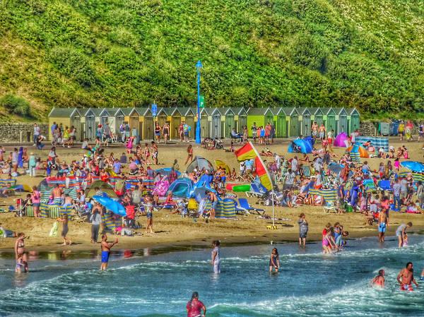 Exuberance Photograph - Beach Mania  by Connie Handscomb