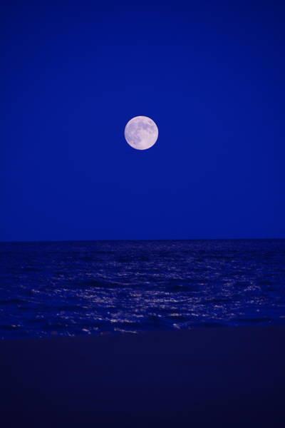 Photograph - Beach Moon by Raymond Salani III
