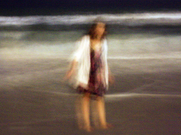 Photograph - Beach Night 3 by David Ralph Johnson
