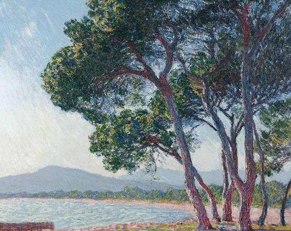 Painting - Beach Of Juan-les-pins by Claude Monet