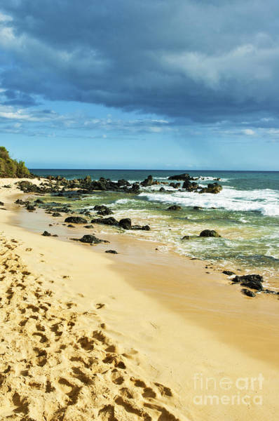 Rock Island Line Photograph - Beach On Maui 19 by Micah May