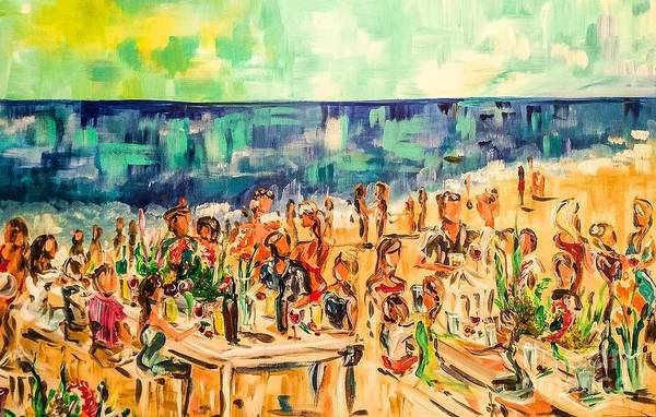 Painting - Beach Party by Lisa Owen-Lynch