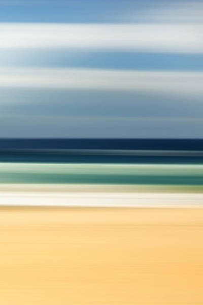 Contemporary Photograph - Beach Pastels by Az Jackson