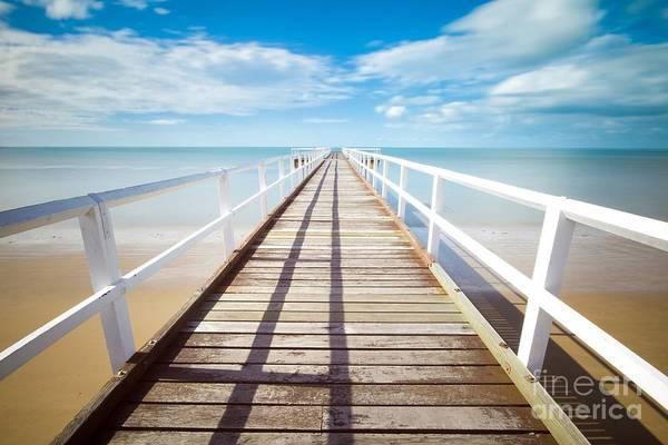 Photograph - Beach Pier 1 by Jesse Watrous
