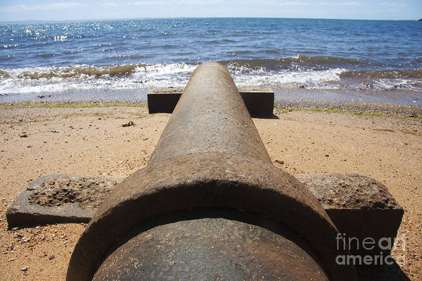 Drainage Photograph - Beach Pipeline by Jorgo Photography - Wall Art Gallery