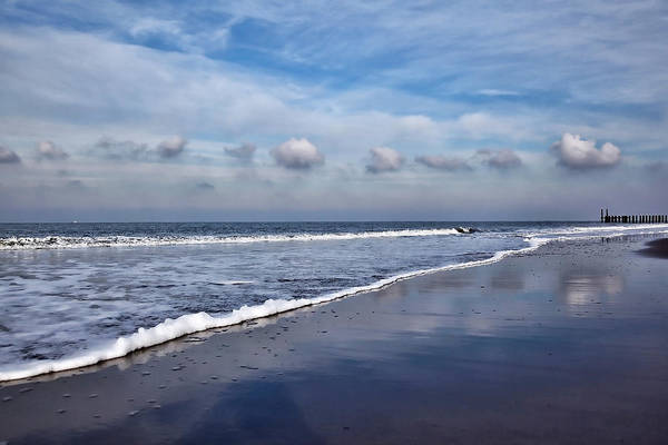 Photograph - Beach Reflections by Annie Snel