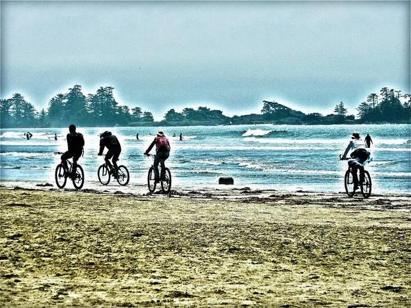 Digital Art - Beach Ride by Alicia Kent