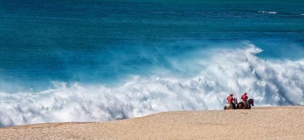 Wall Art - Photograph - Beach Riders by Pamela Steege