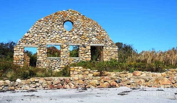 Wall Art - Photograph - Beach Ruins by Lisa Kilby