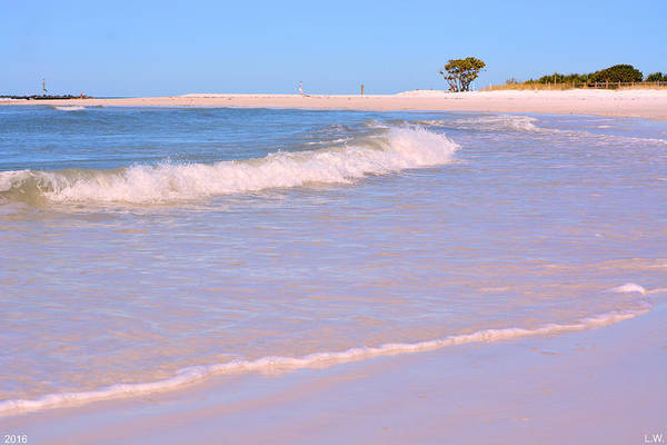 Photograph - Beach Scene 2 by Lisa Wooten