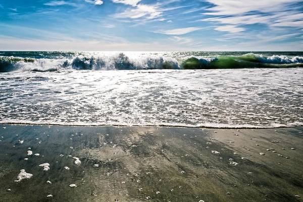 Photograph - Beach Scene by Alison Frank