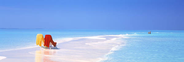 Untouched Wall Art - Photograph - Beach Scenic The Maldives by Panoramic Images