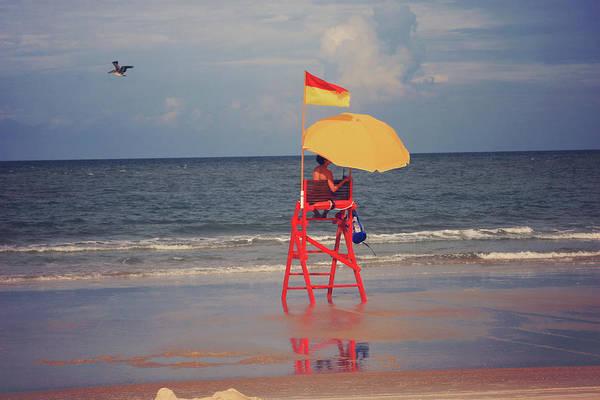 Wall Art - Photograph - Beach Sentinel Florida by Toni Hopper