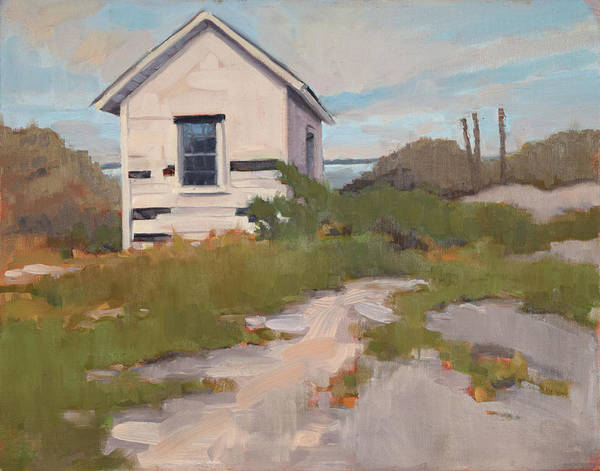 Outer Banks Painting - Beach Shack by Todd Baxter