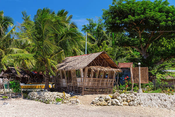 Photograph - Beach Side Nipa Hut by James BO Insogna