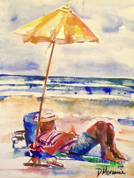 Painting - Beach Siesta by Denise Morencie