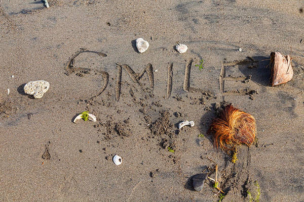 Photograph - Beach Smile by James BO Insogna
