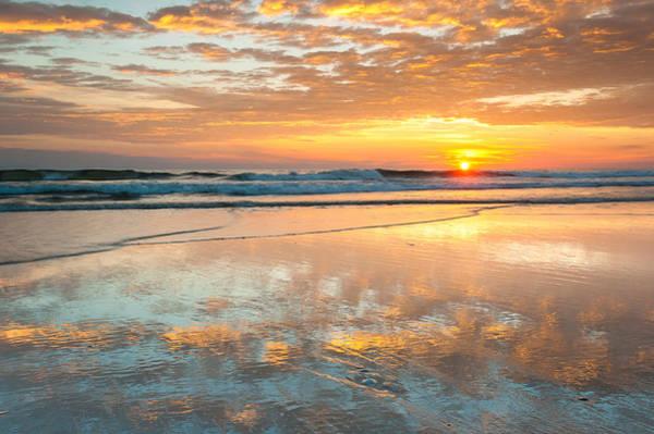 Nc Wall Art - Photograph - Beach Sunrise - Cape Hatteras National Seashore North Carolina by Mark VanDyke