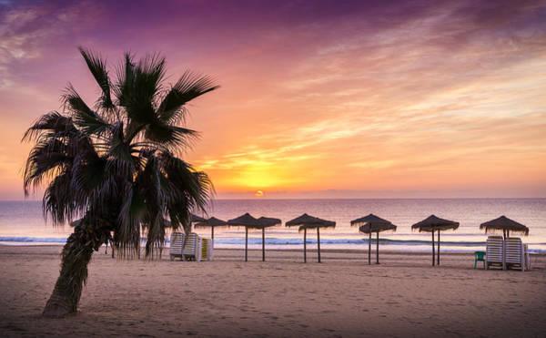 Photograph - Beach Sunrise. by Gary Gillette