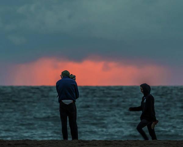 Photograph - Beach Sunset by Martin Gollery