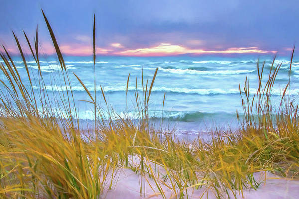 Photograph - Beach Sunset by Randall Nyhof