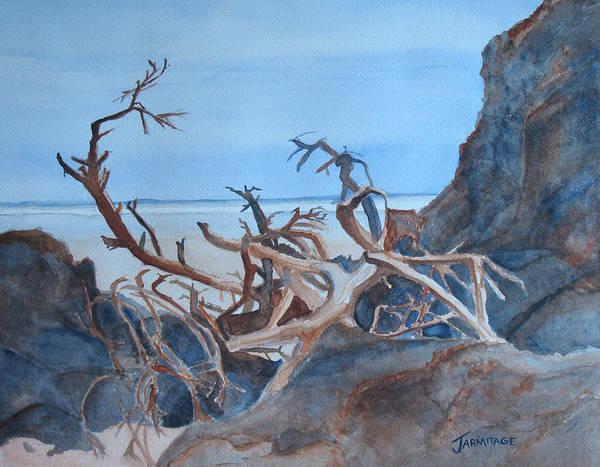 Wall Art - Painting - Beach Tangle by Jenny Armitage
