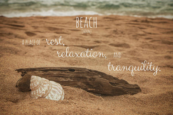 Photograph - Beach by Teresa Wilson