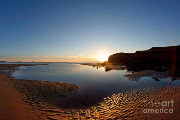Photograph - Beach Textures by Minolta D