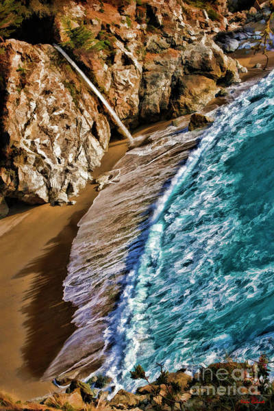 Photograph - Beach To Mcway Falls by Blake Richards