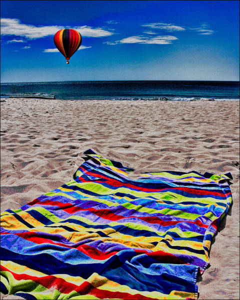 Photograph - Beach Towel by Chris Lord