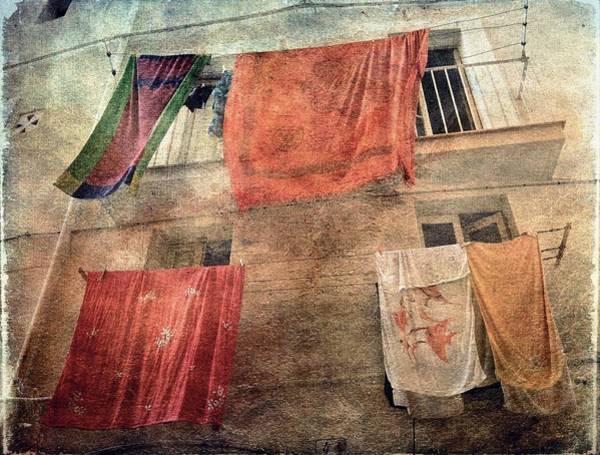 Photograph - Beach Towels by Vittorio Chiampan