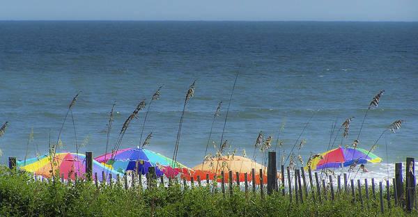 Wall Art - Photograph - Beach Umbrellas by Teresa Mucha