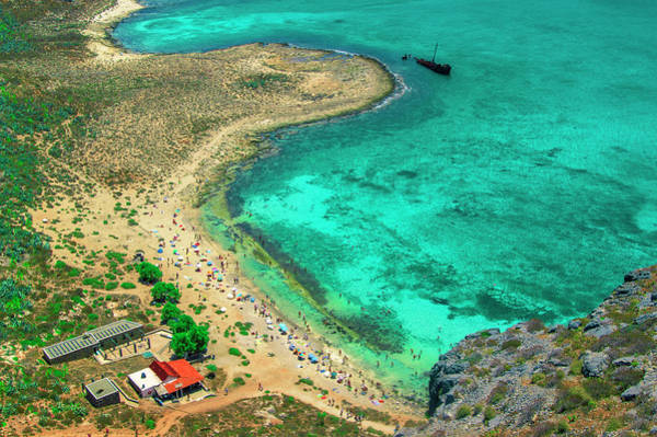 Photograph - Beach View Of Imeri Gramvousa by Sun Travels