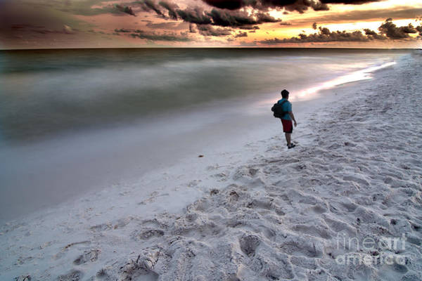 Photograph - Beach Walk by James Hennis